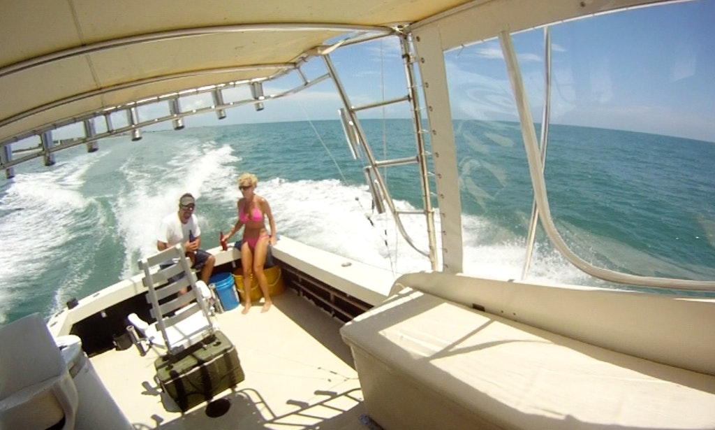 Full day fishing aboard a 32 39 stuart angler sportfisherman for Cape canaveral fishing