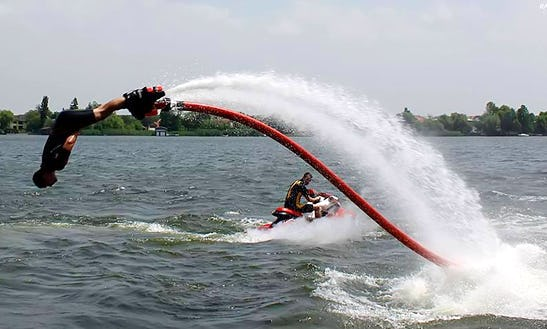 Flyboarding In Snagov