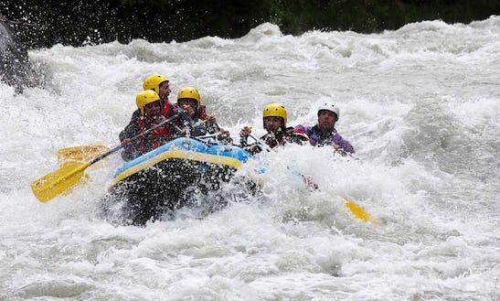 White Water Rafting Trips In Montgirod