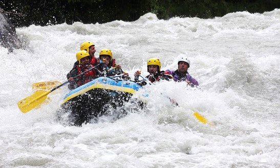 White Water Rafting Trips In Montgirod