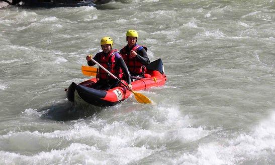 Canoe-raft River Trips In Montgirod