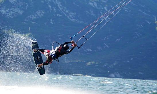 Kitesurfing Lessons & Rental In Limone Sul Garda