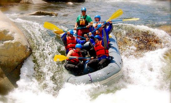 White Water Rafting Experiences In Kitulgala