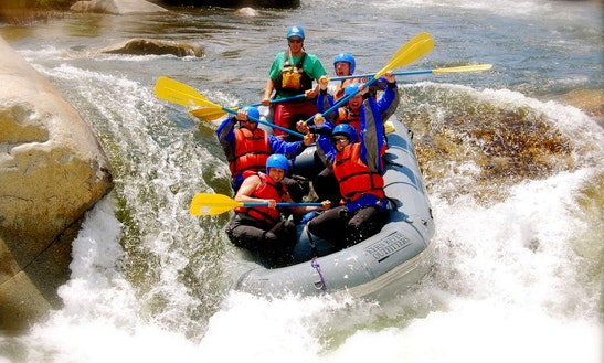 White Water Rafting Experiences In Kitulgala