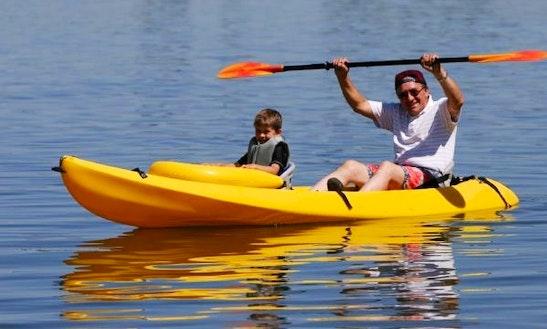 Tandem Kayak Rental In Saugatuck