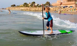 Stand Up paddling  in Caesarea