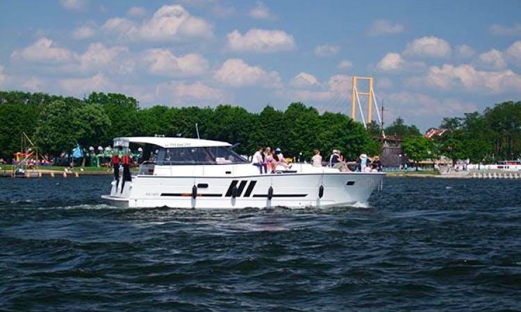 'Nautika 1300' Motor Yacht Charter in Giżycko