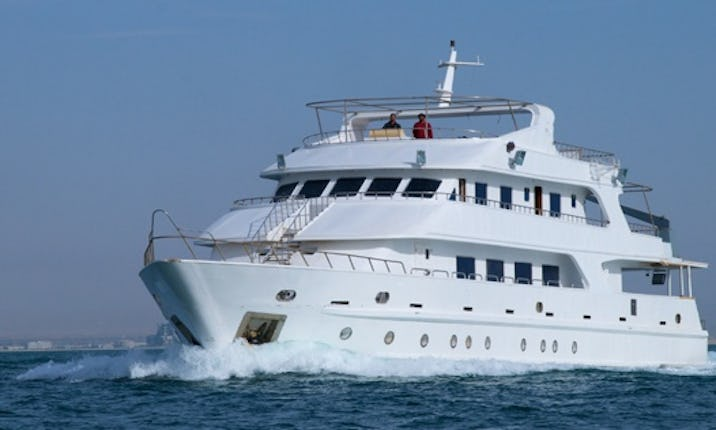 Luxury Live-Aboard Yacht 'Mistral' In Red Sea | GetMyBoat