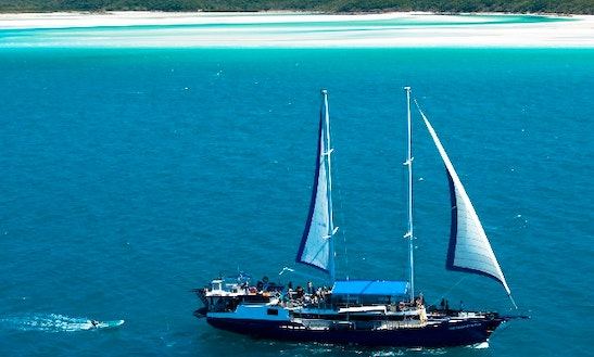 Charter The 114' Atlantic Clipper Sailing Yacht In Airlie Beach
