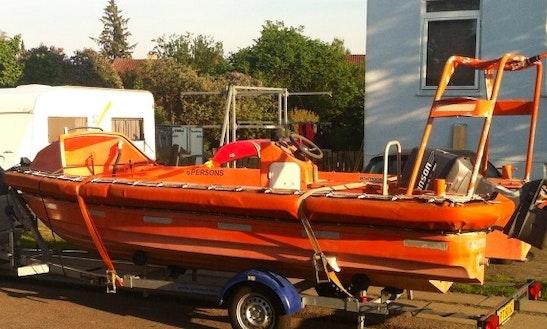 Jet Boat Tour In Herlev, Denmark