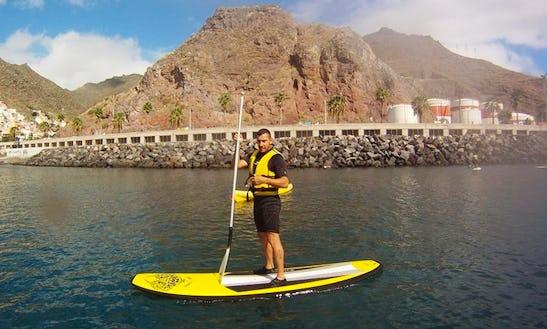 Paddleboard Rental In Santa Cruz De Tenerife Canarias, Spain