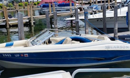 Larson Bowrider 50hp Rental In Lake George