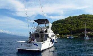 33' Sport Fishing Charter In Deshaies