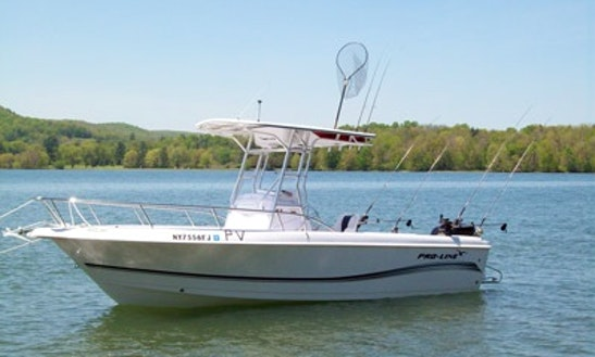 Center Console Fishing Trips In Cooperstown, New York