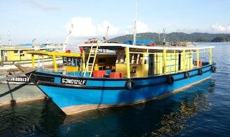 7 Star Fishing Boat in Kota Kinabalu - Overnight Excursion