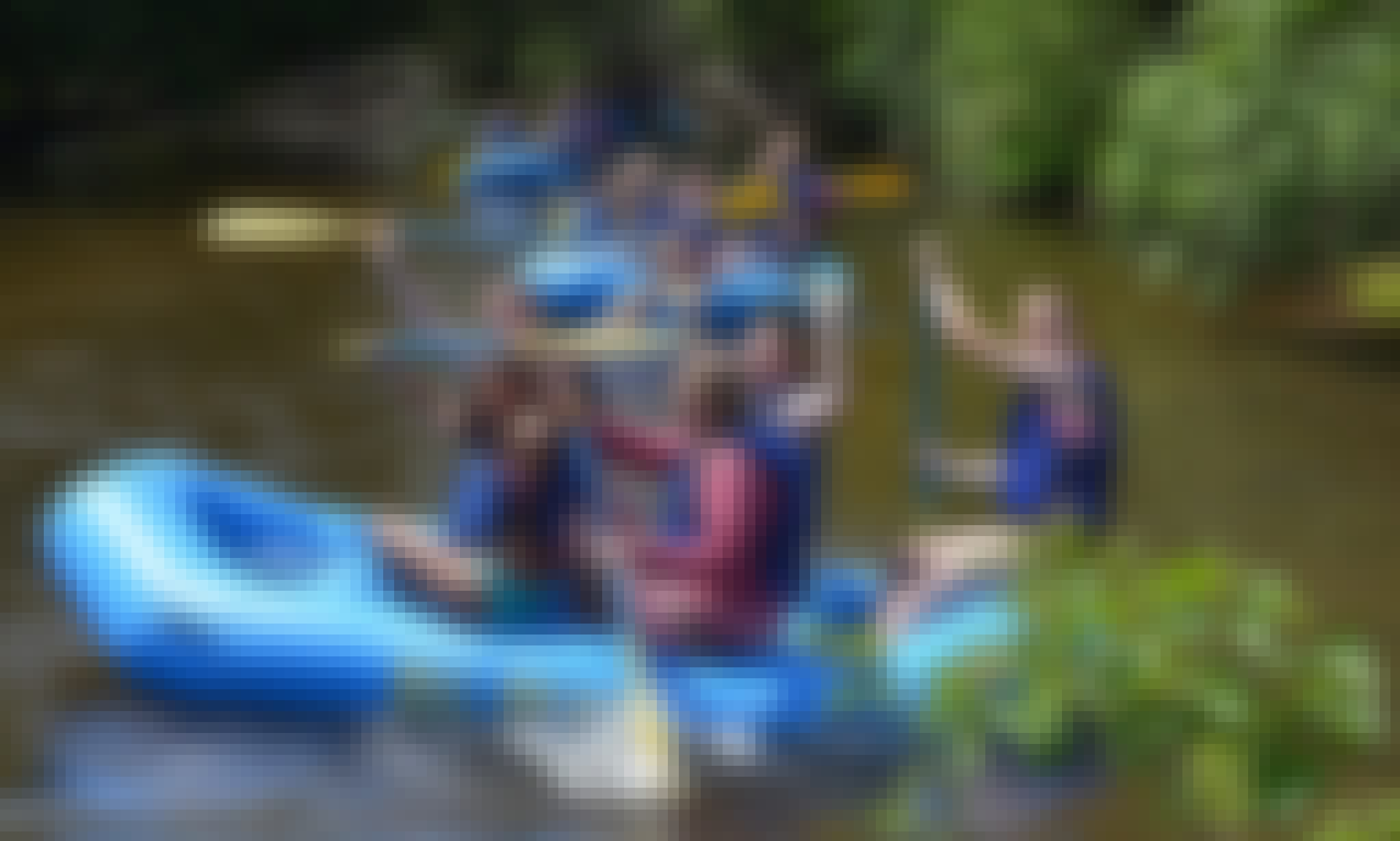 6-People Raft Rental in the Sturgeon River