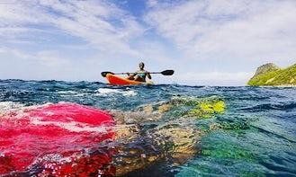 Kayaking and Snorkeling Adventure in Weekes, Montserrat