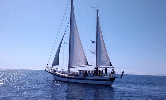 Charter The Sailing Goleta In Estepona