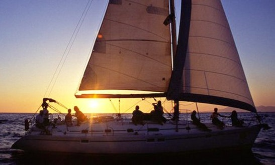 Sunset Sailing Charter In Estepona