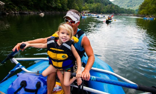 Whitewater Rafting In The New River Gorge