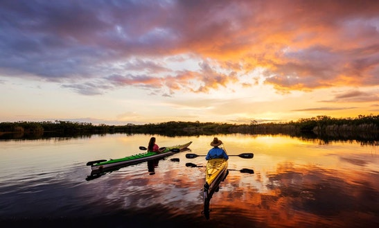 Single Sit-on-top Kayak Rental In Key Largo