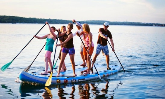 6-people Squatch Sup Rental In Key Largo