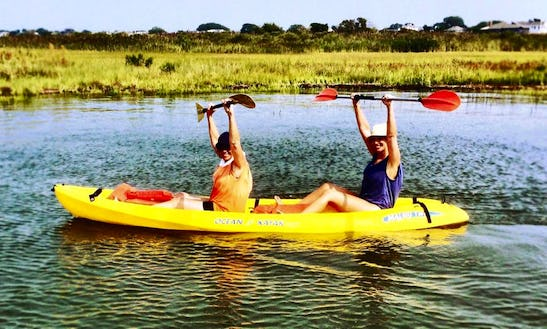 Relaxing Kayak Trip In Beach Haven, New Jersey