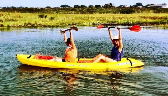 Relaxing Kayak Trip In Beach Haven, New Jersey