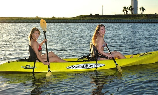 Double Kayak Rental In South Padre Island