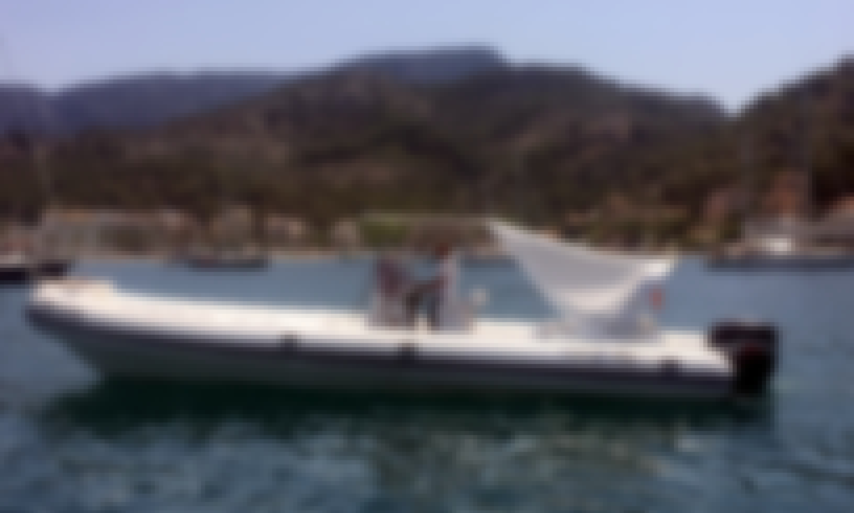 2009 Nuova Jolly King RIB Rental in Port d'Andratx, Spain for 12 person