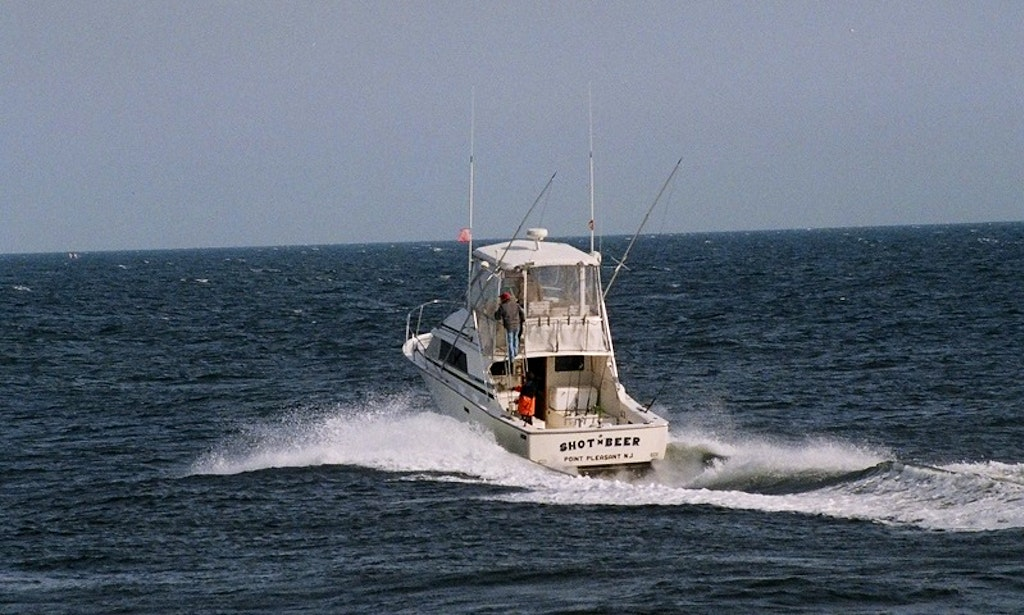 33 39 sport fisherman fishing trips in point pleasant new for Tuna fishing charters nj