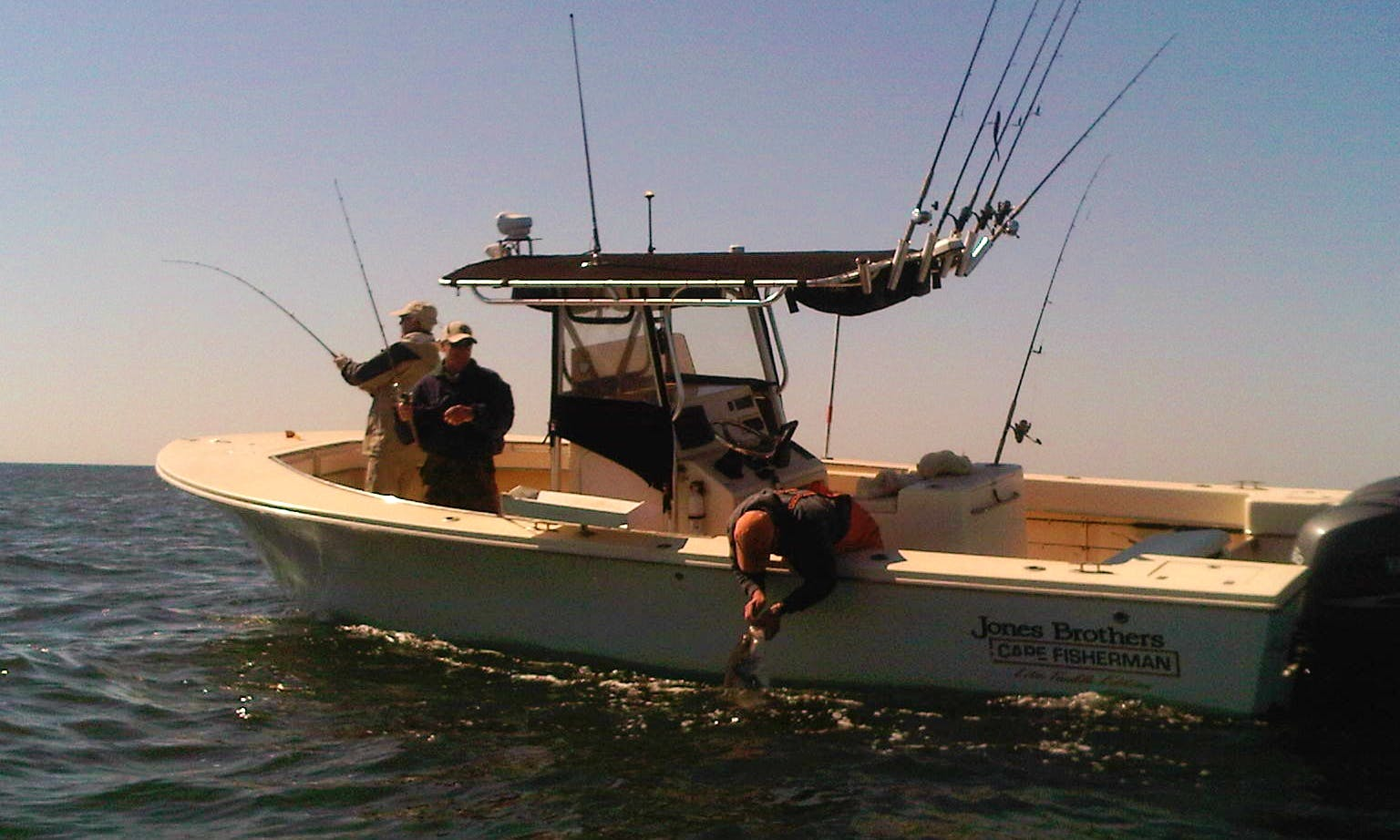 "26' Center Console ""Reel Fantasea"" Fishing Trips in Barnegat Township, New Jersey"