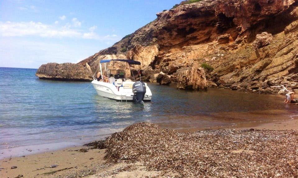Key Largo 22 Motor Boat Rental in Ciutadella de Menorca, Spain