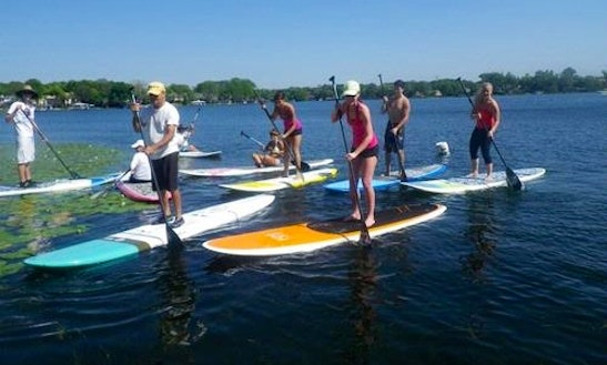 Stand Up Paddleboard Rental & Yoga In Surf City