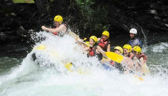 White Water Rafting Trips In Sort