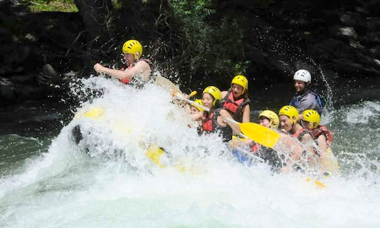 White Water Rafting Trips In Sort