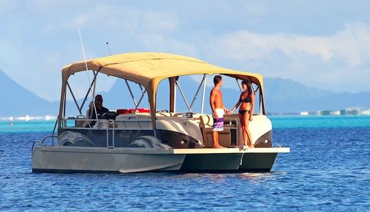 'champagne' Luxurious Trimaran Private Excursions In Bora-bora