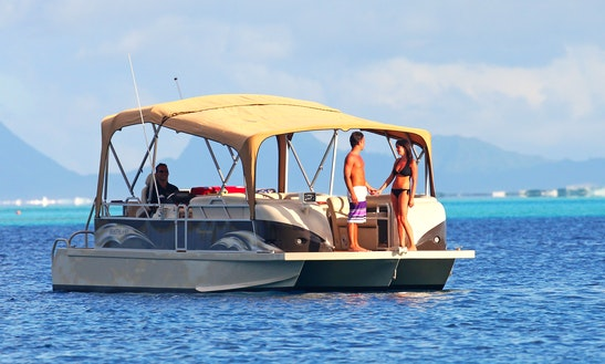 'champagne' Luxurious Trimaran Private Excursions In Bora-bora