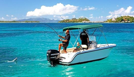 'isa' Boat, Private Lagoon And Reef Fishing In Bora Bora
