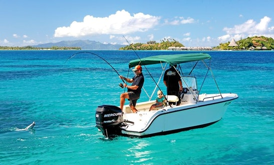 'isa' Boat, Private Lagoon & Reef Fishing In Bora Bora