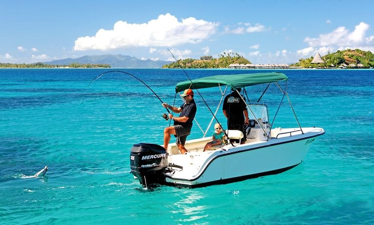Isa' Boat, Private Lagoon and Reef Fishing in Bora Bora | GetMyBoat