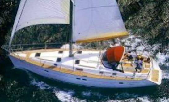 Oceanis 411 Perf Q Cruising Monohull Rental In La Foret-fouesnant, France