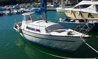 Sloop rental in Soverato - skipper speak english, french,spanish