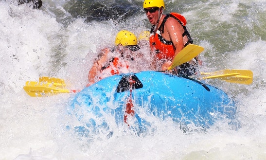 Rafting Trips In Waitomo, New Zealand