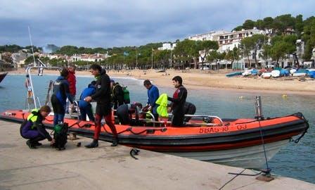 "32' RIB ""Barrakudas"" Diving Trips in Llafranc, Spain"