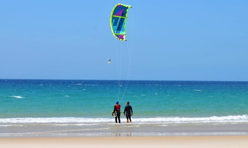 Kitesurfing courses and lessons in Tarifa