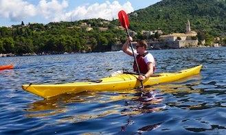 Kayak in Lopud