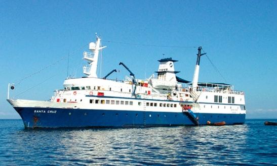 'mn Santa Cruz' Motor Boat Charter In Guayaquil
