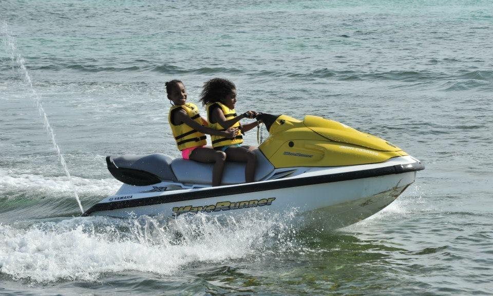 Jet ski in jamaica