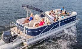24' Sweetwater Pontoon Boat Rental In Cape Coral, Florida